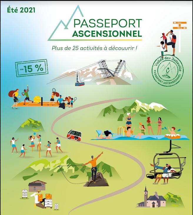 Ascension Passeport Les Belleville - NEW !