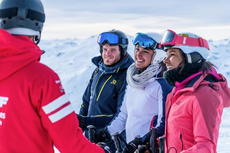 Ski entre amis dans les 3 Vallées