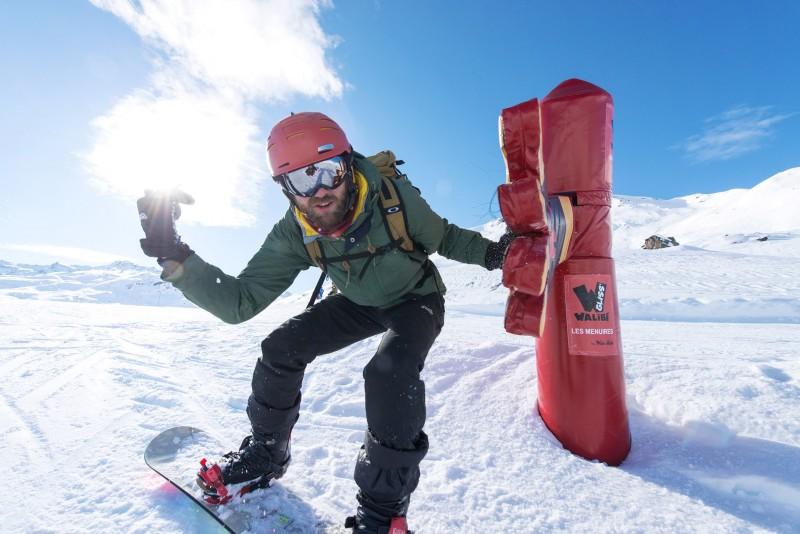 Snowboard fun aux Menuires